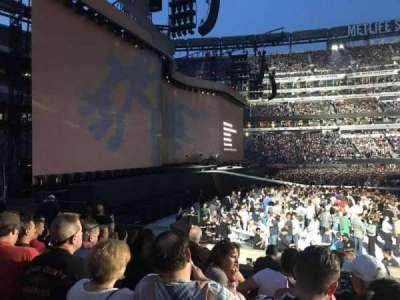 MetLife Stadium, sección: 142, fila: 9, asiento: 6