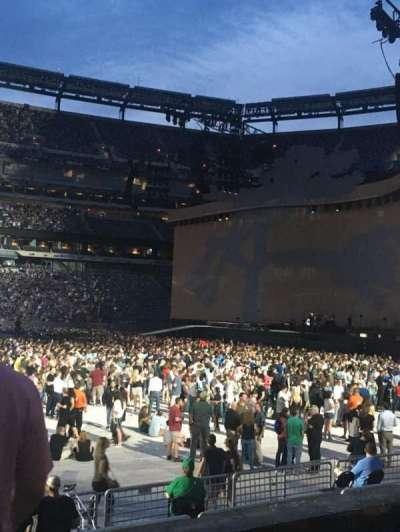 MetLife Stadium, sección: 113, fila: 3, asiento: 20
