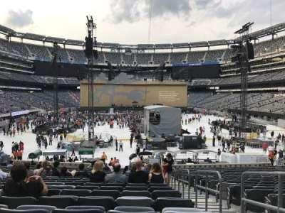 MetLife Stadium, sección: 128, fila: 26, asiento: 1