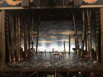 Gerald Schoenfeld Theatre, sección: Mezzanine, fila: A, asiento: 108
