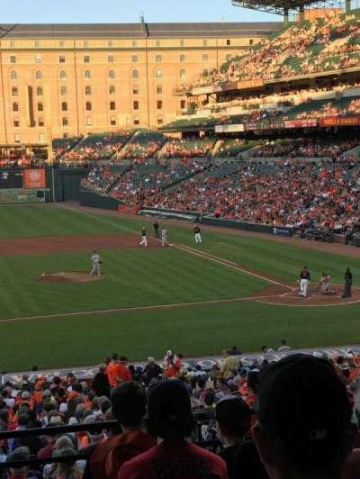 Oriole Park at Camden Yards, sección: 49, fila: 6, asiento: 22