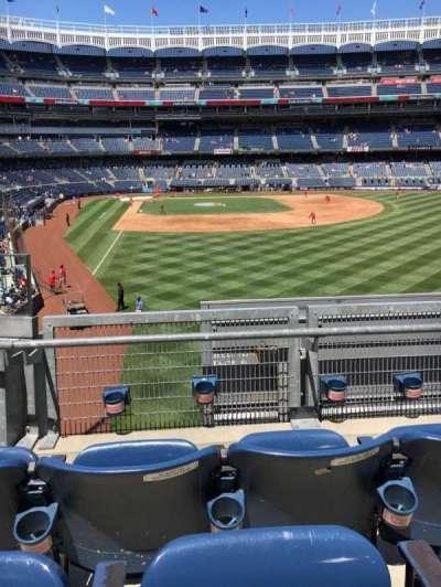 Yankee Stadium sección 206