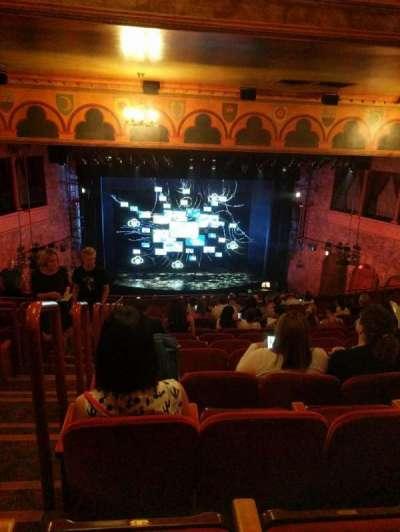 August Wilson Theatre, sección: Mezzanine, fila: P, asiento: 114