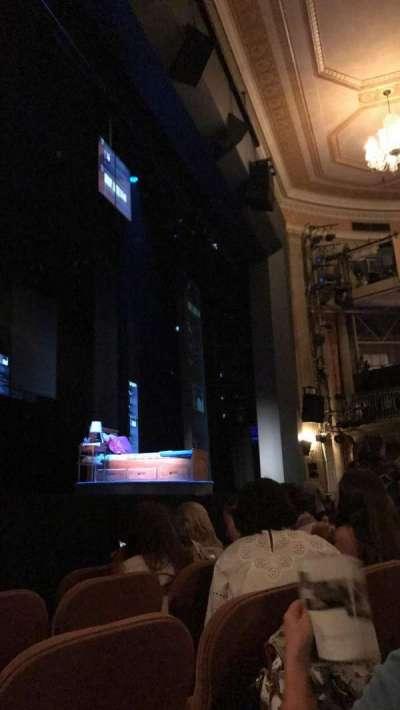 Music Box Theatre, sección: Orch, fila: E, asiento: 15