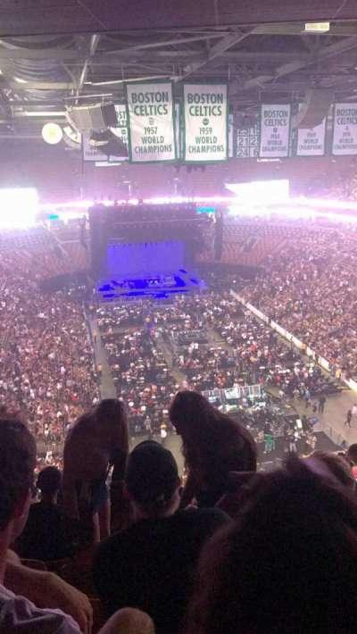 TD Garden, sección: 310, fila: 15, asiento: 13