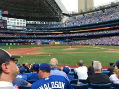 Rogers Centre, sección: 126l, fila: 12, asiento: 106