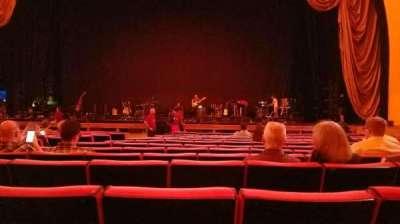 Radio City Music Hall, sección: orchestra 3, fila: NN, asiento: 310