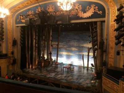 Gerald Schoenfeld Theatre, sección: Mezzanine Right, fila: D, asiento: 16