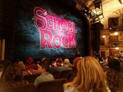 Winter Garden Theatre, sección: Orch, fila: G , asiento: 15