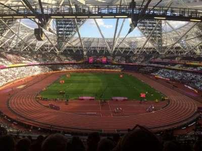 London Stadium sección Block 250