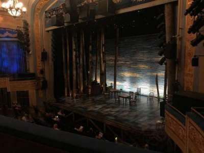 Gerald Schoenfeld Theatre, sección: RIght Mezz, fila: B, asiento: 20