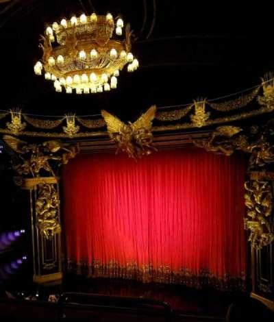 Majestic Theatre, sección: front mezz right, fila: C, asiento: 2