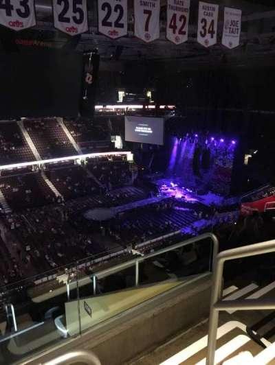 Quicken Loans Arena, sección: 207, fila: 11, asiento: 18