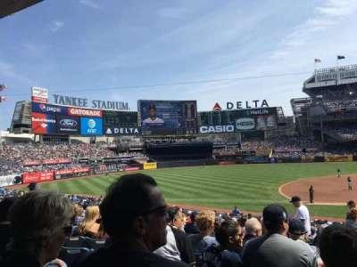 Yankee Stadium, sección: 126, fila: 16, asiento: 3