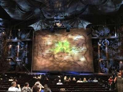Gershwin Theatre, sección: Orchestra C, fila: N, asiento: 115