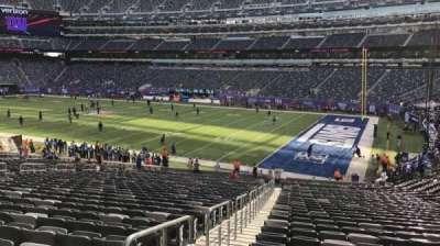 MetLife Stadium, sección: 108, fila: 33, asiento: 29