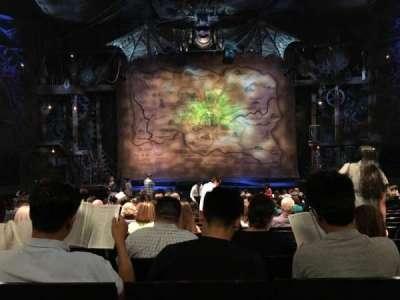 Gershwin Theatre, sección: ORCH, fila: Q, asiento: 108
