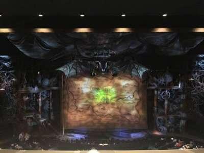 Gershwin Theatre, sección: Front Mezzanine C, fila: C, asiento: 109
