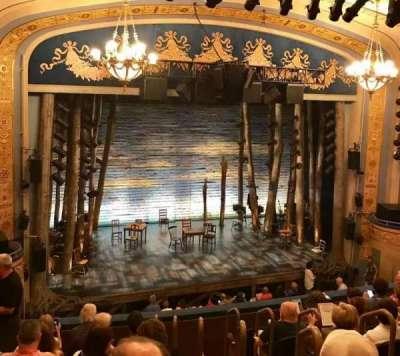 Gerald Schoenfeld Theatre, sección: Mezzanine Left, fila: H, asiento: 7