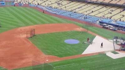 Dodger Stadium, sección: 23RS, fila: L, asiento: 12