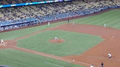 Dodger Stadium, sección: 28RS, fila: G, asiento: 8