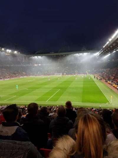 Old Trafford, sección: W208, fila: 12, asiento: 125