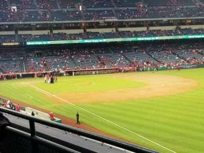 Angel Stadium, sección: C346, fila: B, asiento: 14