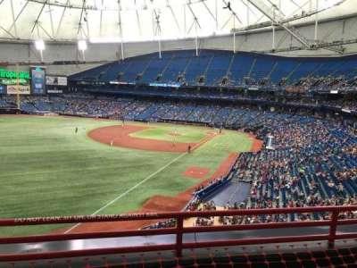 Tropicana Field, sección: 341, fila: C, asiento: 16