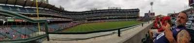 Angel Stadium, sección: P236, fila: A, asiento: 1
