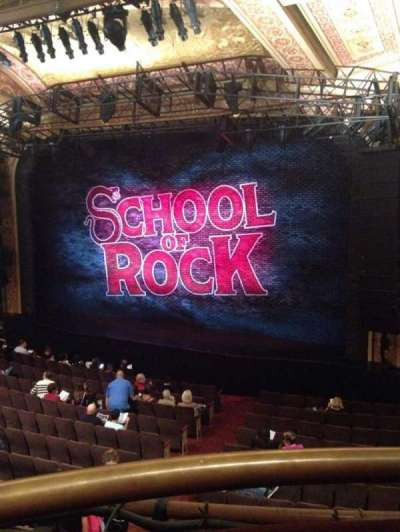 Winter Garden Theatre, sección: Mezz, fila: A, asiento: 2