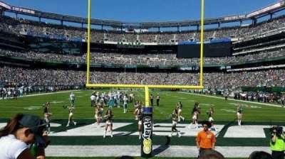 MetLife Stadium, sección: 126, fila: 3, asiento: 12