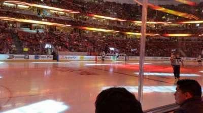 Honda Center, sección: 224, fila: B, asiento: 8