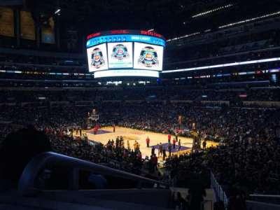 Staples Center, sección: PR1, fila: 6, asiento: 3,4
