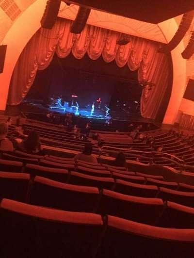 Radio City Music Hall, sección: 2nd Mezzanine 7, fila: G, asiento: 709