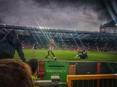 Old Trafford, sección: N1407, fila: BB, asiento: 155