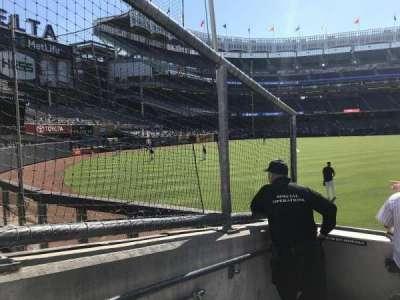 Yankee Stadium, sección: 136, fila: 5, asiento: 24