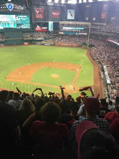 Chase Field, sección: 319, fila: 23, asiento: 11