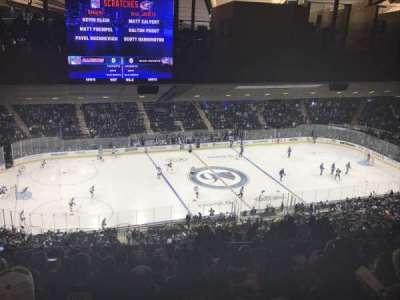 Madison Square Garden, sección: 222, fila: 22, asiento: 15