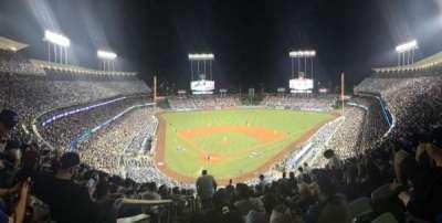 Dodger Stadium, sección: 4RS, asiento: 1