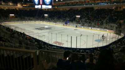 Ricoh Coliseum, sección: 107, fila: L, asiento: 15