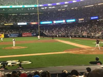 Yankee Stadium sección 123