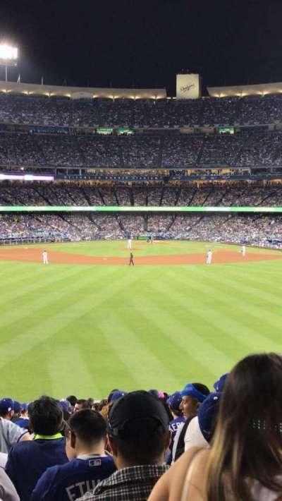 Dodger Stadium, sección: 302PL, fila: K, asiento: 5