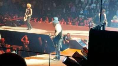 Madison Square Garden, sección: 109, fila: 8, asiento: 1