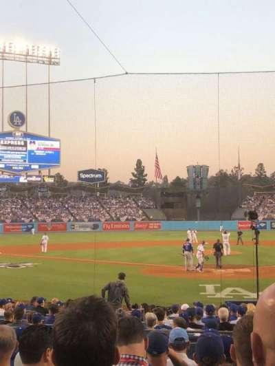 Dodger Stadium, sección: 5FD, fila: J, asiento: 2