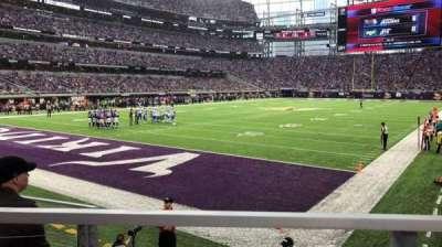 U.S. Bank Stadium, sección: 116, fila: 6, asiento: 10