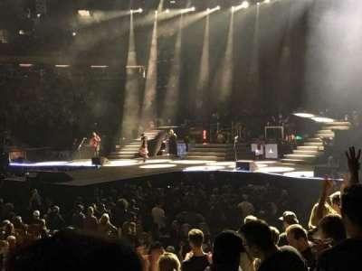 Madison Square Garden, sección: 106, fila: 6, asiento: 18