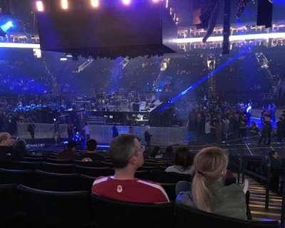 Oracle Arena, sección: 128, fila: 13, asiento: 1
