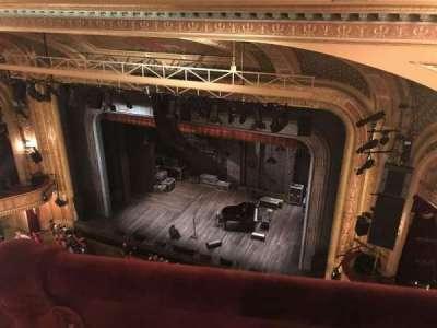 Walter Kerr Theatre, sección: Balcony Right, fila: A, asiento: 28