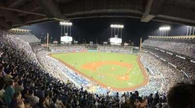 Dodger Stadium, sección: 7RS, fila: U, asiento: 1