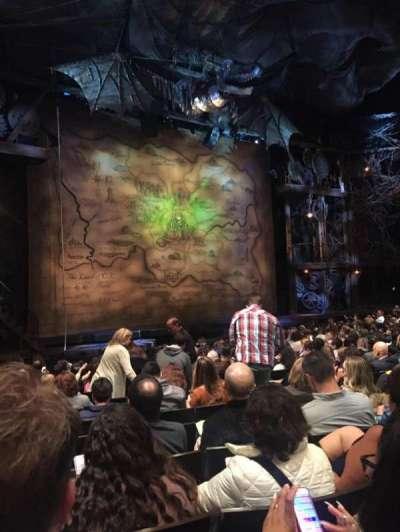 Gershwin Theatre, sección: Orchestra L, fila: L, asiento: 15